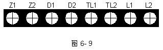 GST-LD-8304消防电话接口接线端子图