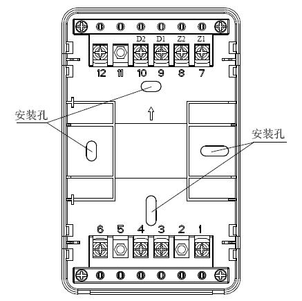 GST-HX-MN100C(Ex)防爆火灾声光警报器底壳示意图