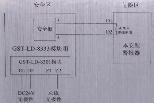 GST-LD-8333模块箱接线图