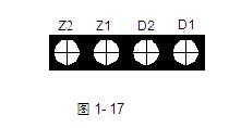 J海湾JTY-HM-GST102红外对射光束感烟探测器接线端子图