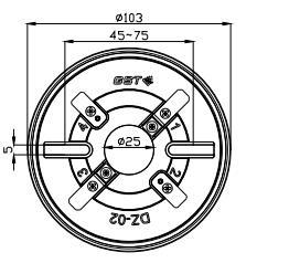 海湾JTY-GD-G3点型光电感烟火灾探测器(烟感)