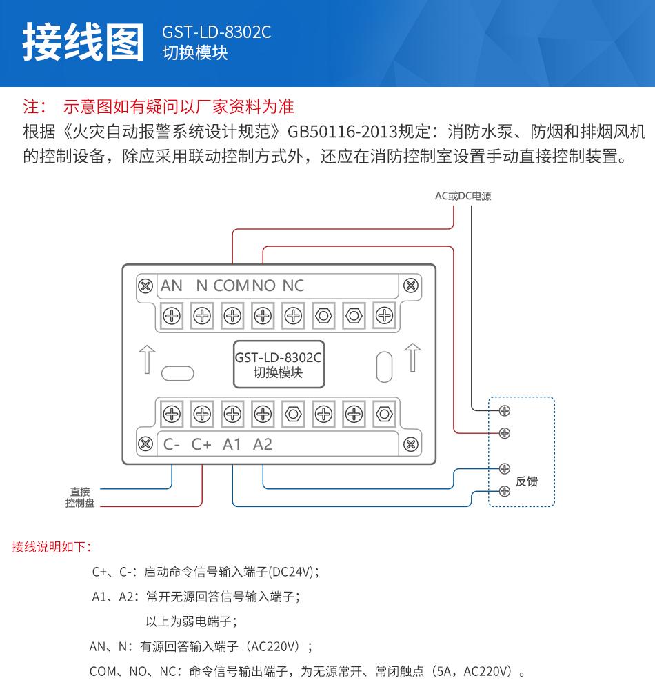 GST-LD-8302C切换模块