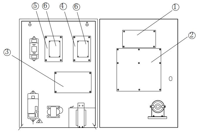 JK-TX-GST6000D传输设备内部结构